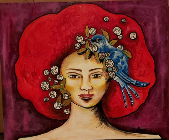 """""""Queens"""" is a collection by Lisandra T. Di Liberto Brown. The art exhibit will be displayed Aug. 7 through Sept. 1 at The Korner Lounge in downtown Shreveport."""