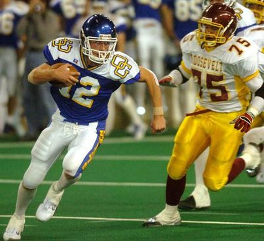 Coleman led O'Gorman to a state title the previous year by beating rival Roosevelt at the DakotaDome.