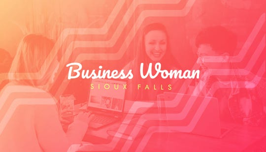Business Woman Sioux Falls logo