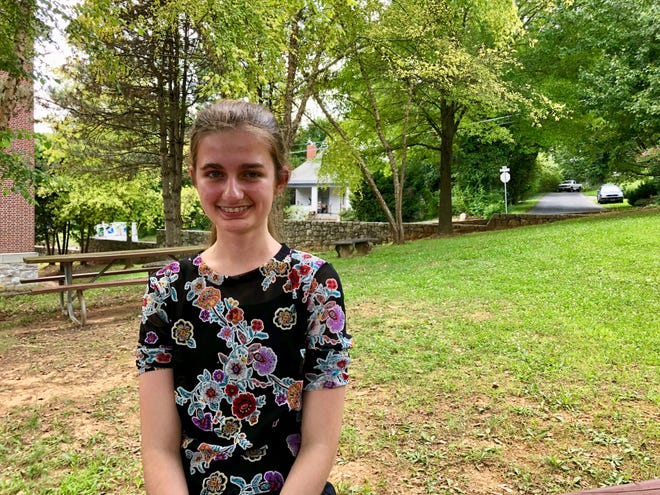 Sophia Schwaner, 15, has written a 22-song musical about the Persian Wars.