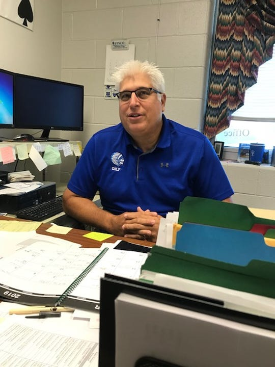 Mark Mace, Fort Defiance's athletic director, is excited about his school's move into the Shenandoah District.