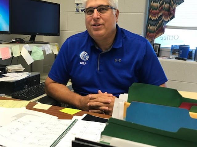 Mark Mace is transitioning out of the role as athletic director at Fort Defiance High School.