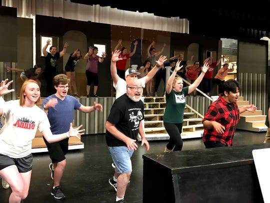 """Great Northern Theatre Company will perform an """"Addams Family"""" production on theGlanville Smith Auditorium stage."""