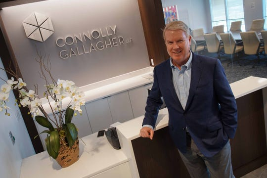 Chip Connolly is the founding partner of Connolly Gallagher, LLP. Connolly Gallagher law firm that placed third in the small company category in The News Journal's Top Workplaces contest.