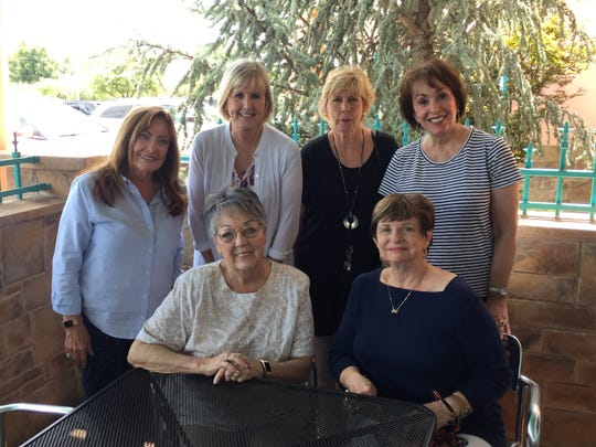 """Pictured at a recent get together, the Divas will show a variety of work at the """"Divas Forever"""" exhibit at The Galleria in The Forum."""
