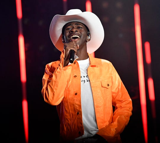 Lil Nas X performs during the 2019 CMA Fest June 8, 2019 in Nashville, Tennessee.