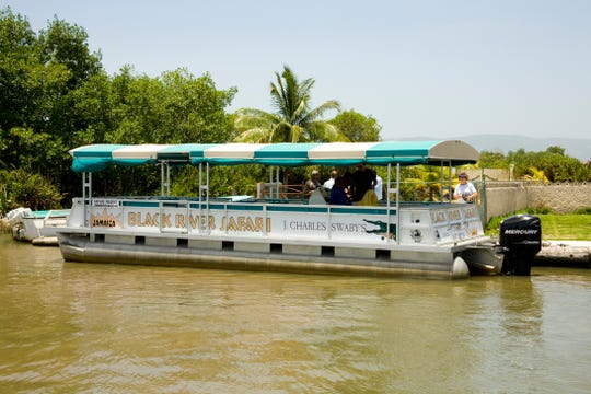 The port town of Black River on Jamaica's southern coast offers eco-river excursions.