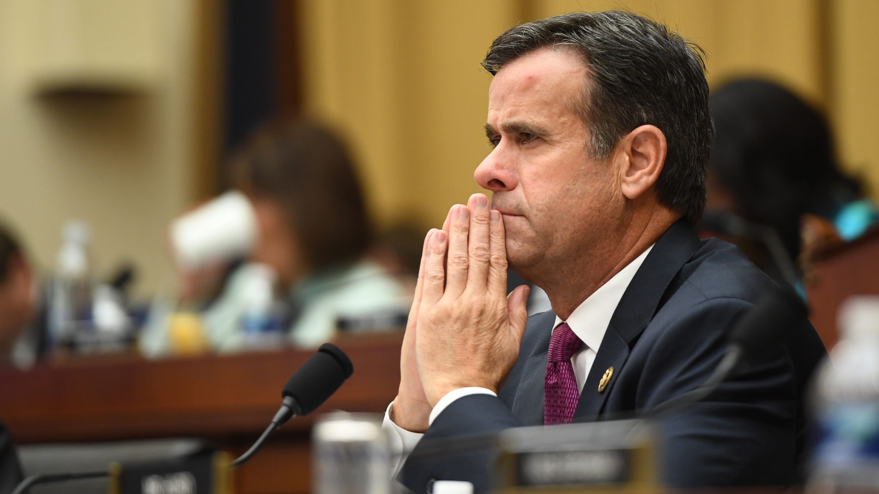 John Ratcliffe: Who Is The Man Trump Named To Replace Dan