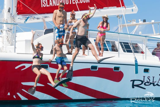 Island Routes Caribbean Adventures offers catamaran sailings for the whole family.