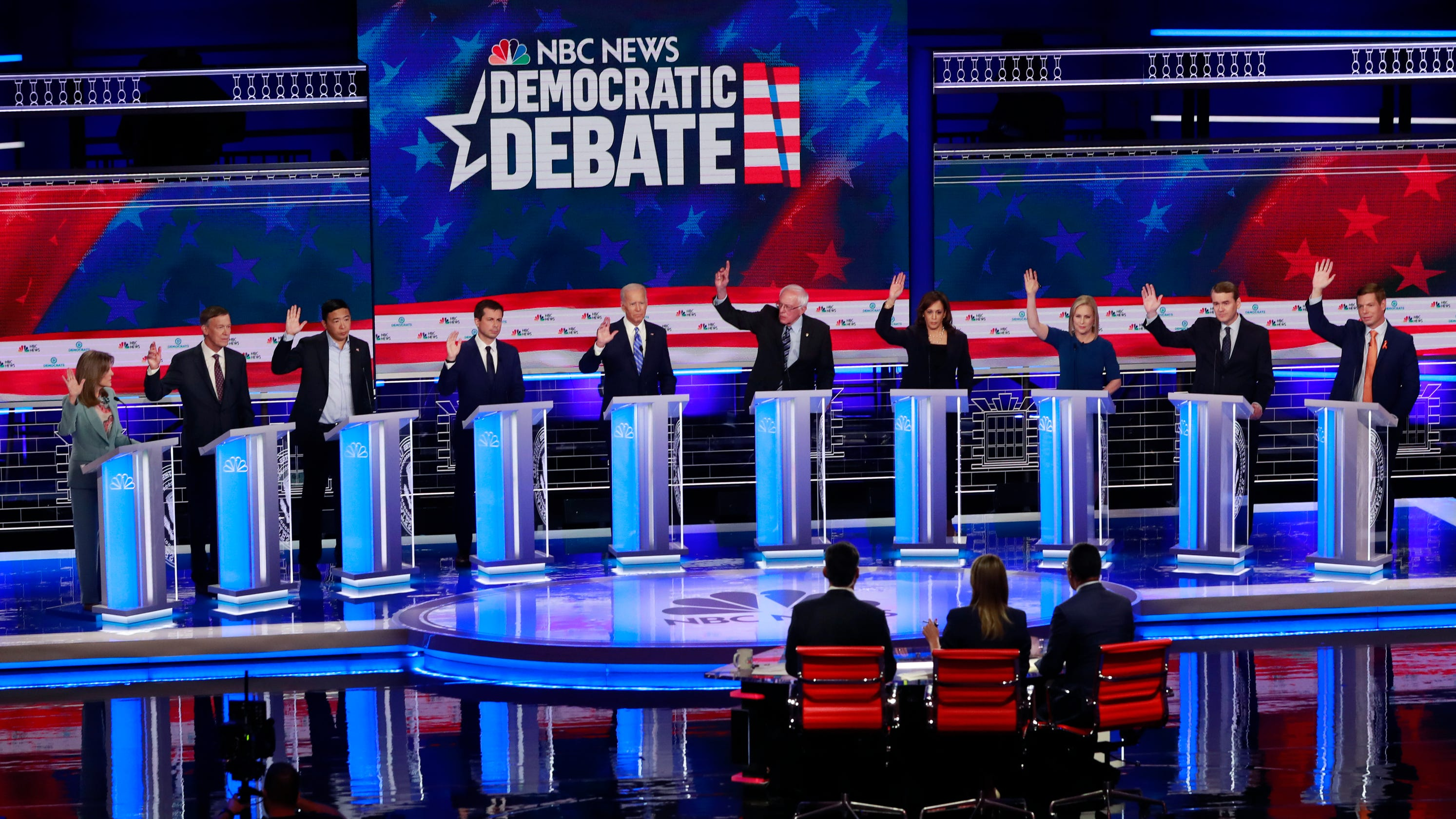 Best Of Lawrence 2020 Race issues inevitable at Democratic debates but will Trump be target?