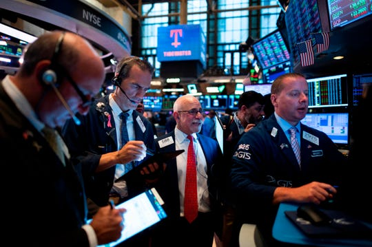 At the New York Stock Exchange on July 29, 2019.