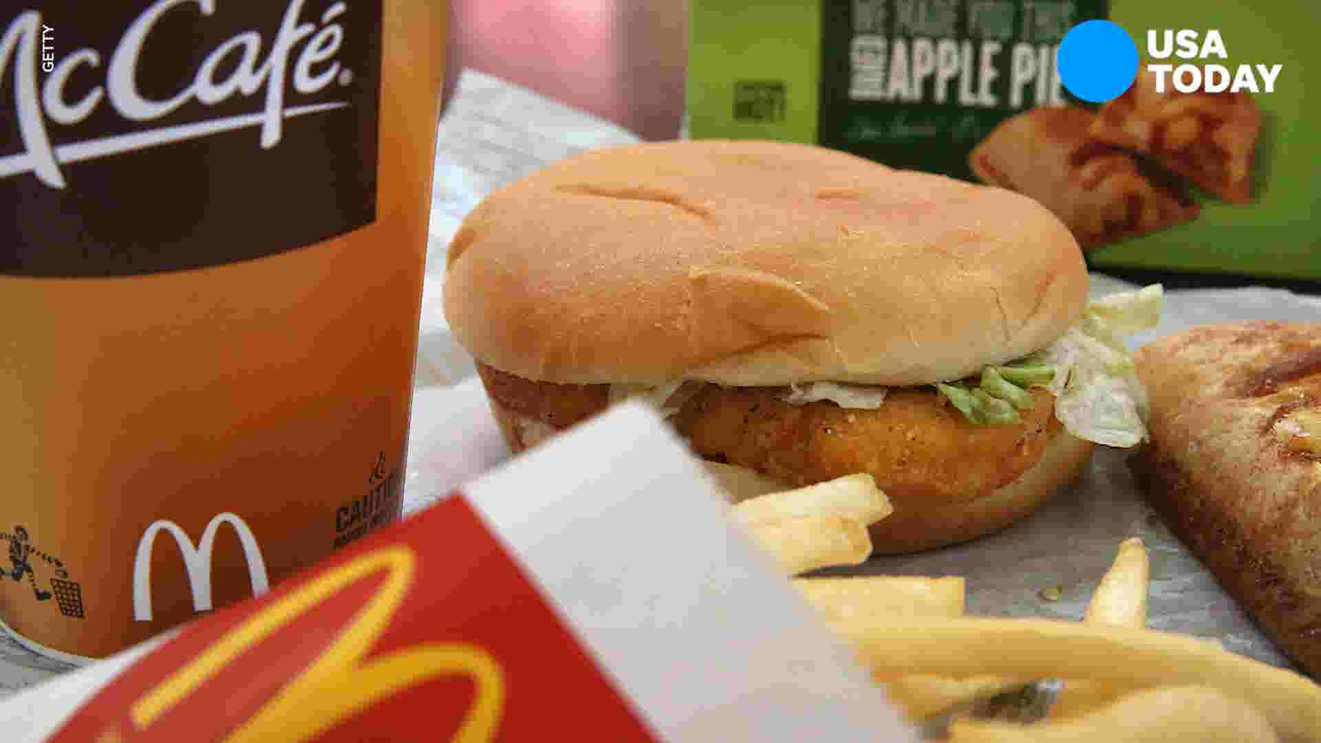 Officer forgets biting into McChicken and blames McDonald's workers for  bite marks