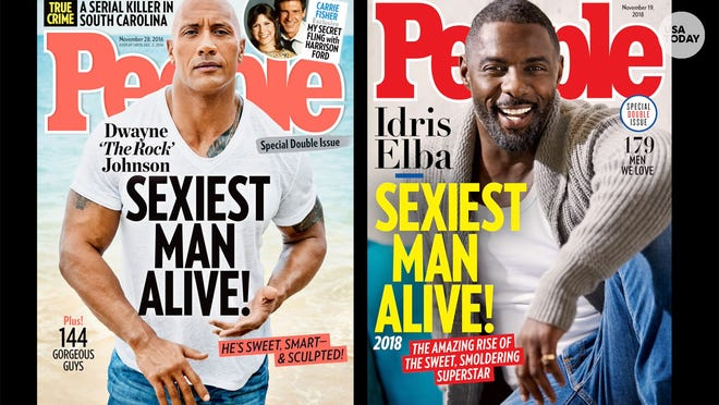 The Sexiest Man Alive For The Rock It S The Rock