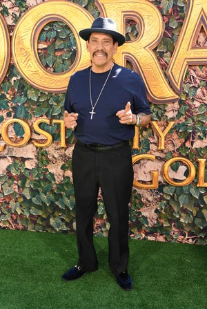 """Danny Trejo, who voices a character in """"Dora and the Lost City of Gold"""" out this weekend, just played the real-life role of hero."""