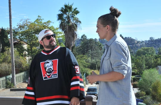"""Kevin Smith, left, and Jason Mewes in """"Madness in the Method."""""""