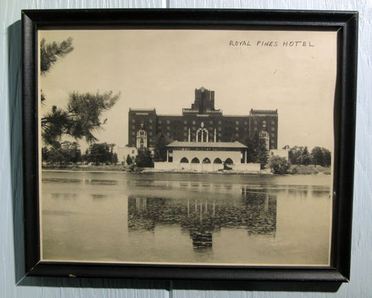 The Royal Pines Hotel is shown in this historic photo at the Berkeley Township Historical Society.   THOMAS P. COSTELLO / ASBURY PARK PRESS