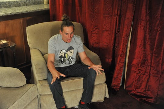 """Jason Mewes in his directorial debut, """"Madness in the Method."""""""