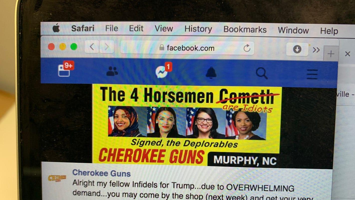 Rep. Rashida Tlaib slams North Carolina gun billboard for 'inciting violence'