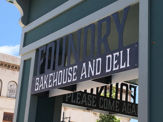 The Foundry Bakehouse and Deli opened in Albion in the spring.