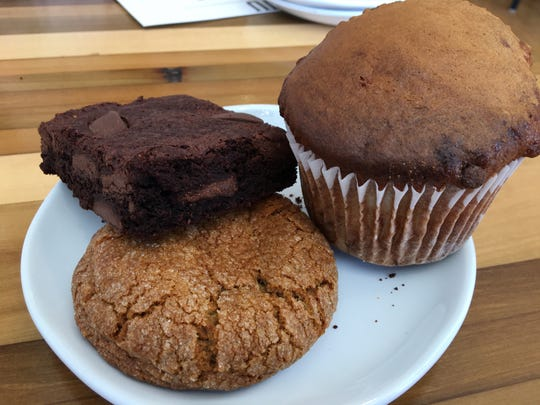 The Foundry Bakehouse and Deli in Albion features house-made items such as the Foundry Brownie, plus cookies and muffins.