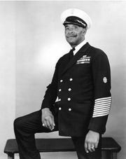 """Chief Gunner's Mate John Henry """"Dick"""" Turpin was one of the first African-American Chief Petty Officers in the U.S. Navy. This photograph appears to have been taken during or after World War II.Image Courtesy U.S. Naval History and Heritage Command Photograph"""