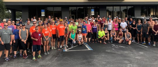 Here's the crew from the July 23 run at Charlie & Jake's Brewery Grille. The last stop in the Summer Brewery and Running Tour will be at 6:30 p.m. July 30 at Intracoastal Brewing Company.