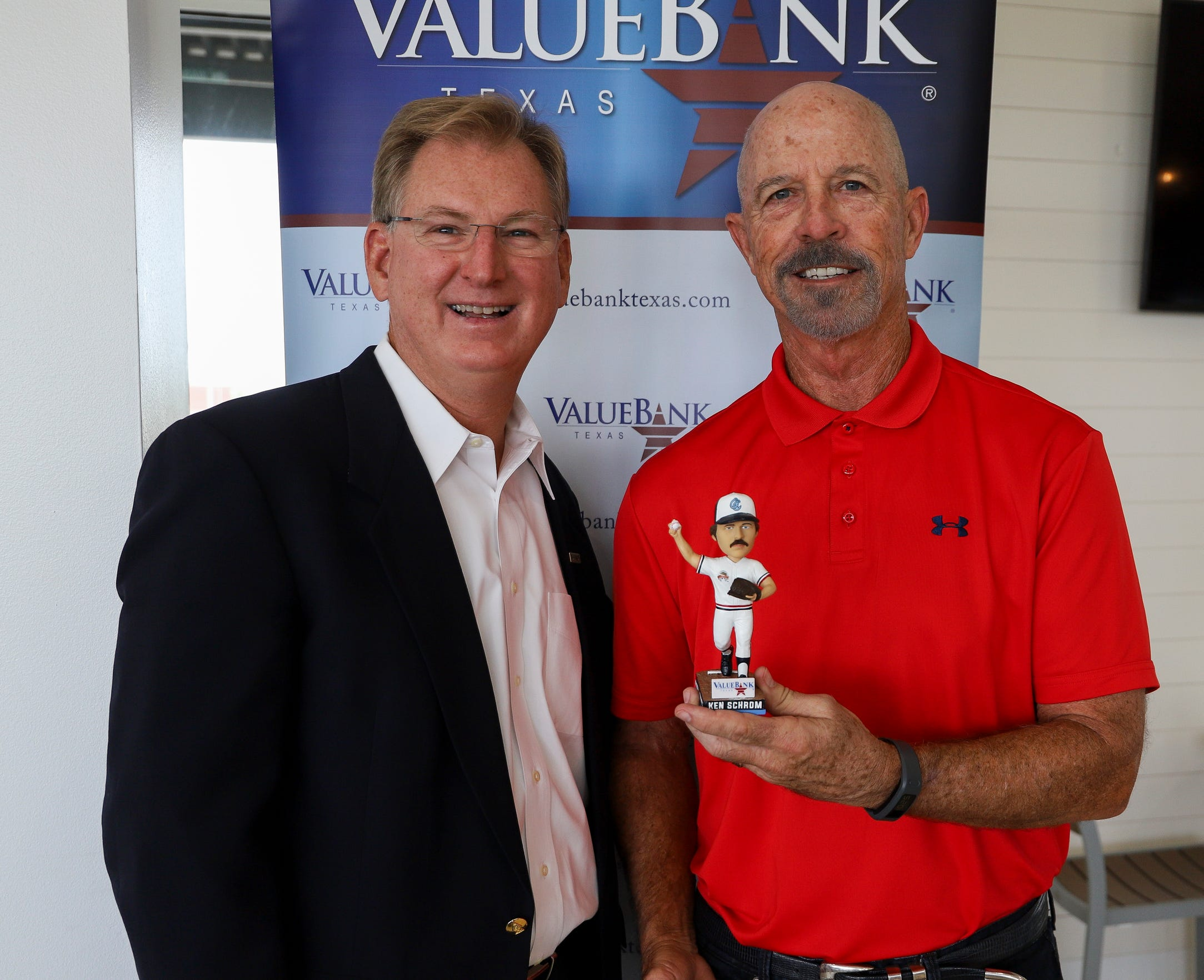It is the first time Ken Schrom will have a bobblehead to honor him in his 40-plus year career in professional baseball. The bobblehead will be a giveaway at the Sept. 1 Hooks game.