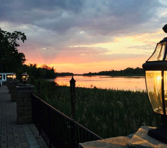 The sunsets at Carlucci's Waterfront in Mount Laurel are a local treasure.
