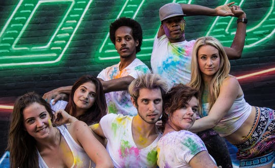 Dancers from Pones, Inc. are seen in a promotional photo from an appearance at the 2016 Cincinnati Fringe Festival. The group will be among the performers at Look Around, created for the Cincinnati Symphony Orchestra.