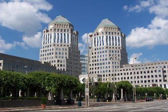 Procter & Gamble's world headquarters in downtown Cincinnati