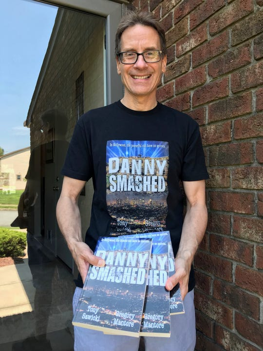 "Greg Mantore of Flemington (pictured) and his writing partner Tony Sawicki recently published their first novel, ""Danny Smashed."""