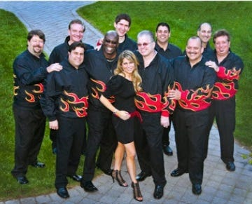 The Infernos will perform from 7 to 8:30 p.m. on Sunday, Aug. 4, at the Duke Island Park band shell in Bridgewater.