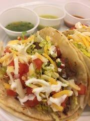 Tacos from GroVer Flavors in Van Meter.