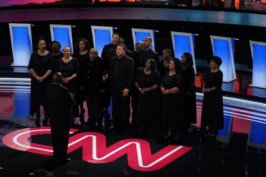 Detroit choir takes stage at Democratic Presidential Debate Tuesday night