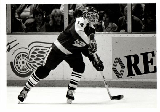 Mike Donnelly led MSU to the 1986 NCAA hockey title.