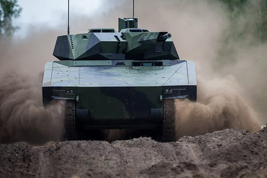 A joint venture between Rheinmetall AG and Raytheon Co. is bidding to become the prime contractor with the Defense Department on a $617 million request for proposals with its Lynx KF41 next-generation infantry fighting vehicles. If in April 2020 the joint venture wins the contract, it intends to open a manufacturing site in Michigan.