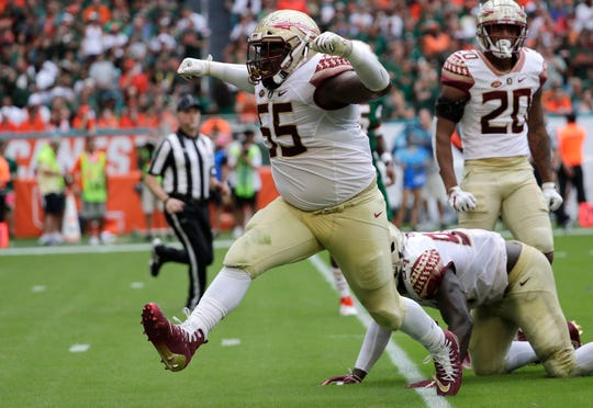 The Lions added a defensive tackle Tuesday to the roster to help replenish the team's depleted depth, signing  Fredrick Jones, who played last season at Florida State.