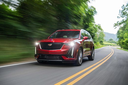 Based on the C1 small platform shared with the XT5, the 2020 Cadillac XT6 SUV is nimble on the road for a beast with three rows of seats.