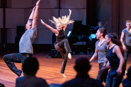 Take Root, a modern-dance company, will perform Friday evening at Detroit's Max M. & Marjorie S. Fisher Music Center.
