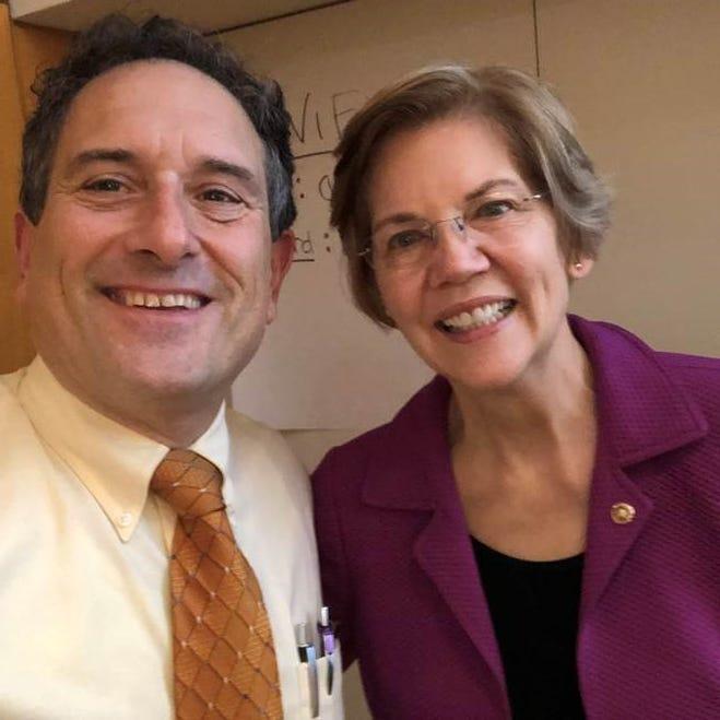 Rep. Andy Levin and Sen. Elizabeth Warren