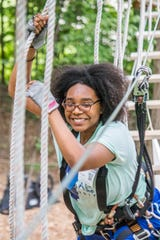 Tree Runner Adventure Park in West Bloomfield has courses for all skill levels.