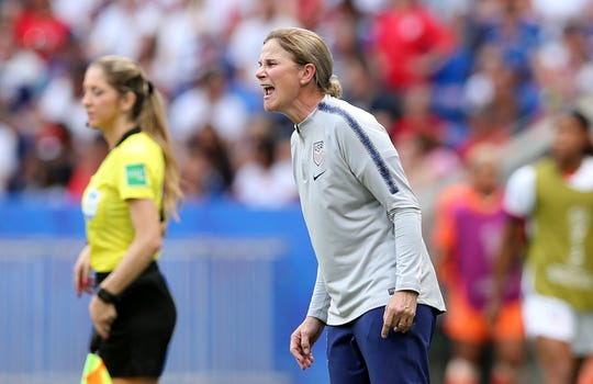 U.S. national team coach Jill Ellis is stepping down after leading the team to back-to-back Women's World Cup titles.