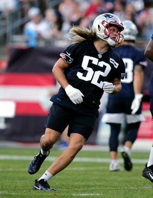 With his rookie season quickly approaching, Chase Winovich, a third-round pick, is simply trying to earn a spot in the edge rusher rotation.