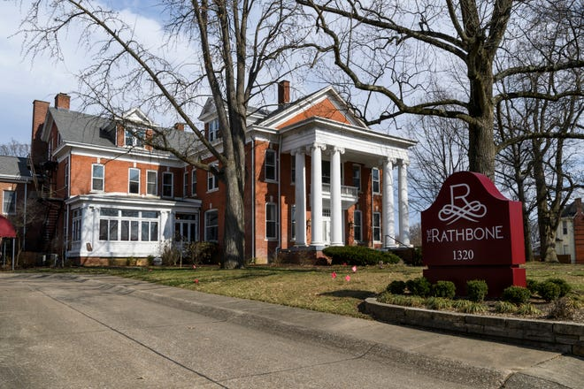 The historic Rathbone building located near Haynie's Corner in Evansville is being renovated into a multi-use facility including one and two bedroom apartments and a restaurant. The building used to house the Rathbone Retirement Village before closing in summer 2017.
