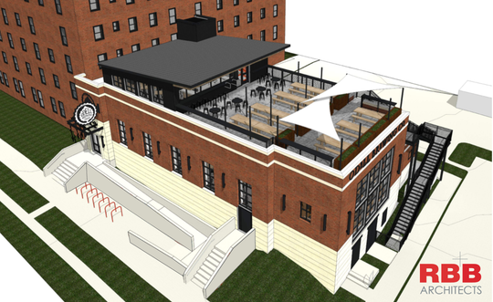 A rendering of the future Odell Sloan's Lake Brewhouse