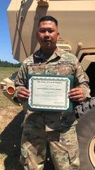 SGT Raymond Barnes - South Dakota Distinguished Service Award.