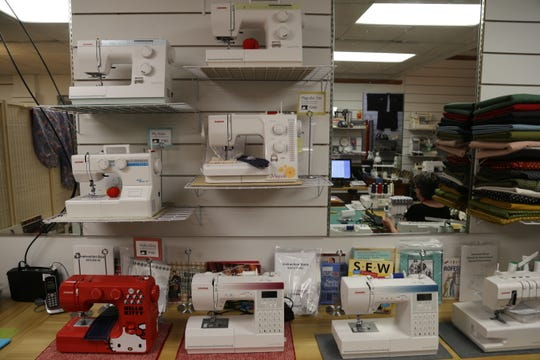 Customers can buy these new sewing machines at IthacaSews.