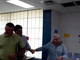 TVA CEO Jeff Lyash meets with Kingston coal ash workers July 18, 2019.