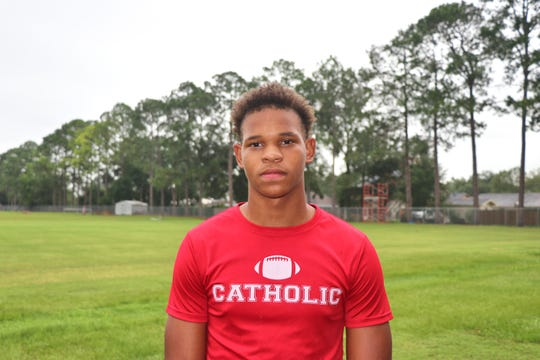 Catholic High RB #4 Tray Henry. Tuesday, July30, 2019