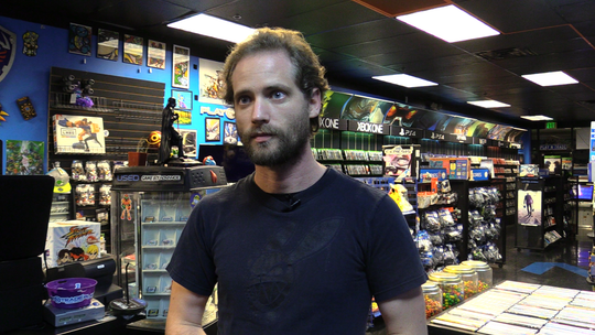 Play-N-Trade owner Jeff Pearson talks about the highs and lows of owning a video game shop.